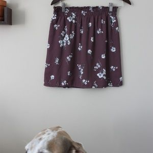 Purple Flower Skirt!